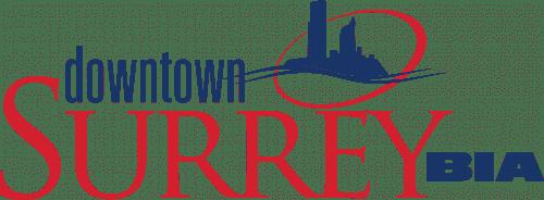 Guardteck municipal security client Downtown Surrey BIA logo