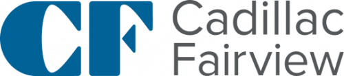 Guardteck Security's Vancouver mall and tower client Cadillac Fairview's logo