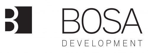 Guardteck Security's Vancouver BC client BOSA Development's logo